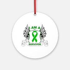 Survivor - Organ Transplant Ornament (Round)