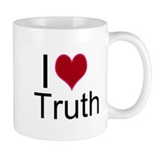 I Love Truth Mug