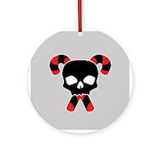 Skull & Candy X-Bones Ornament (Round)
