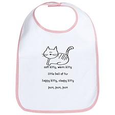 Soft Kitty Bib