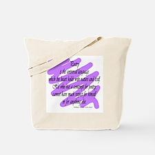 William Hazlitt Quote Tote Bag