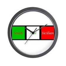 Sicilian Perfection Wall Clock