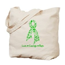 Organ Donor LoveCourageHope Tote Bag
