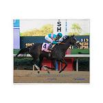 Horse Racing Throw Blanket