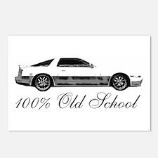 100 % Old School MKIII Postcards (Package of 8)