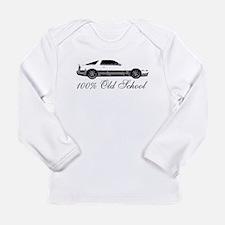 100 % Old School MKIII Long Sleeve Infant T-Shirt