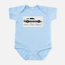 100 % Old School MKIII Infant Bodysuit