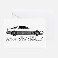 100 % Old School MKIII Greeting Card