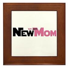 Cool New Mom 2011 Framed Tile