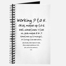 Working 9 to 5 Journal