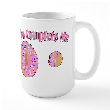 You Complete Me Large Mug