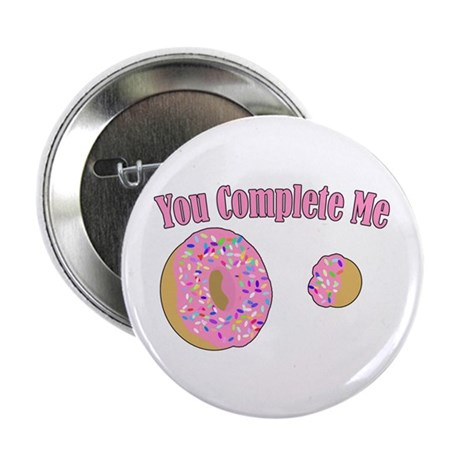 """You Complete Me 2.25"""" Button (100 pack)"""