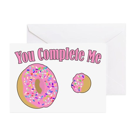 You Complete Me Greeting Cards (Pk of 10)