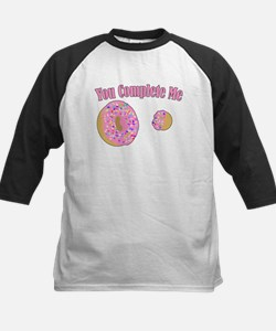 You Complete Me Kids Baseball Jersey