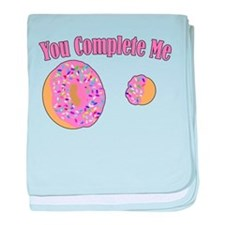 You Complete Me baby blanket