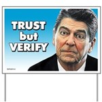 Reagan - Trust But Verify Yard Sign