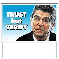 Reagan - Trust But Verify Yard Sign