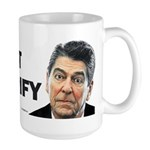 Reagan - Trust But Verify Large Mug
