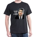 Reagan - Trust But Verify Dark T-Shirt