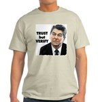 Reagan - Trust But Verify Light T-Shirt
