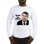 Reagan - Trust But Verify Long Sleeve T-Shirt