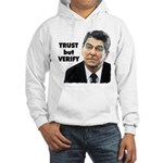 Reagan - Trust But Verify Hooded Sweatshirt