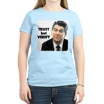 Reagan - Trust But Verify Women's Light T-Shirt
