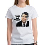 Reagan - Trust But Verify Women's T-Shirt