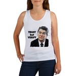 Reagan - Trust But Verify Women's Tank Top