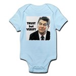 Reagan - Trust But Verify Infant Bodysuit