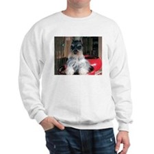 Watch My Schnauzer Grow Sweatshirt