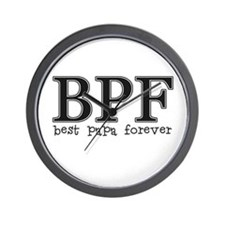 Best Papa Forever Wall Clock
