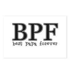 Best Papa Forever Postcards (Package of 8)