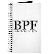 Best Papa Forever Journal
