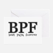 Best Papa Forever Greeting Card