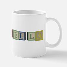 Bella Alphabet Block Mug