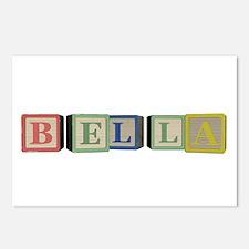 Bella Alphabet Block Postcards (Package of 8)