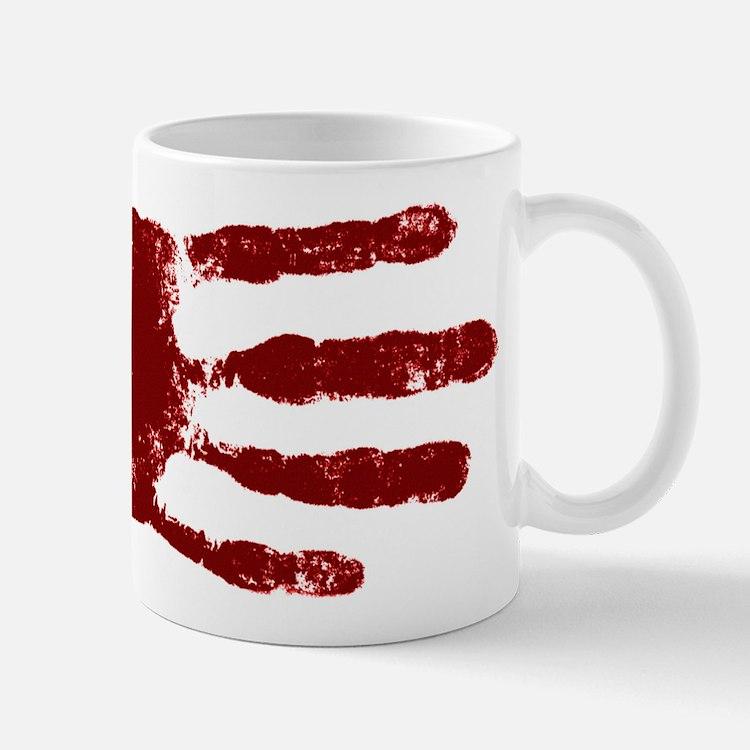 Remember to wash your hands - Handprint Mug
