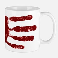 Remember to wash your hands - Handprint Small Small Mug