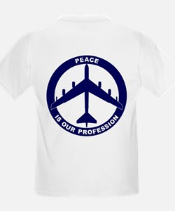 B-52G Peace Sign Kid's Light T-Shirt