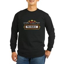 Worlds Greatest Welder Long Sleeve T-Shirt