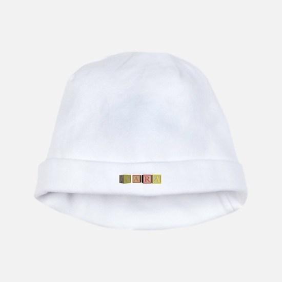 Cara Alphabet Block baby hat