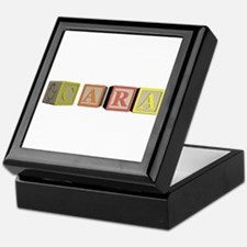 Cara Alphabet Block Keepsake Box