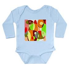 Hot Psychedelic Long Sleeve Infant Bodysuit