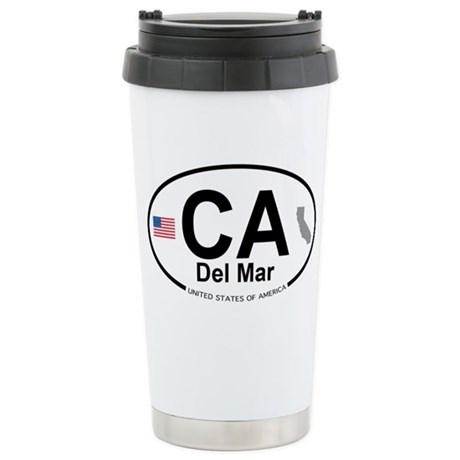 Del Mar Stainless Steel Travel Mug