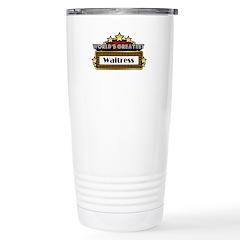 World's Greatest Waitress Travel Mug