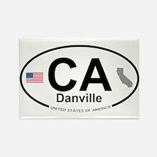 Danville Rectangle Magnet