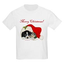 Christmas Puppy & Kitten T-Shirt