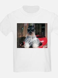Watch My Schnauzer Grow Kids T-Shirt