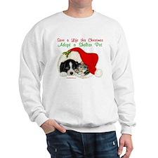 Christmas Puppy & Kitten Sweatshirt